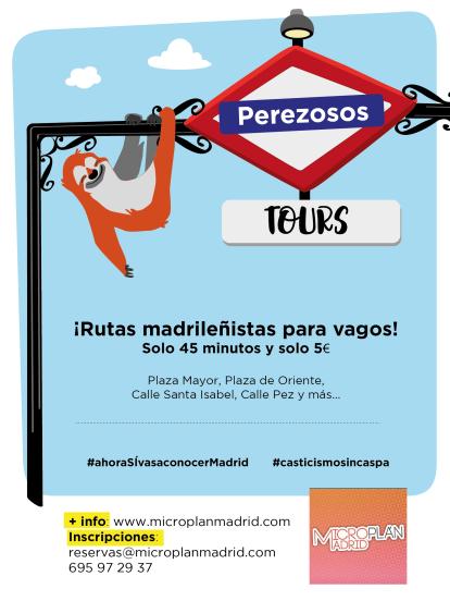 perezosos tours-microplan-madrid