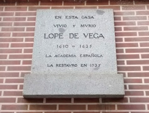 Casa Lope Vega Madrid