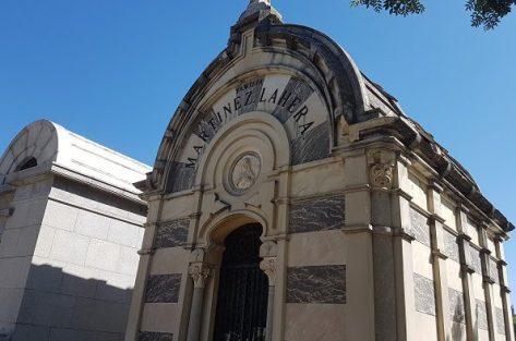 Mausoleo del cementerio de la Almudena