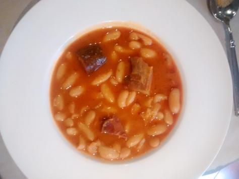 Restaurante Asgaya Fabada Microplán Madrid