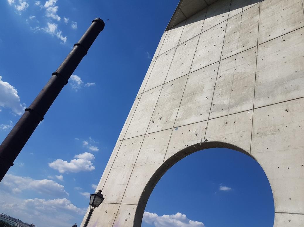 Puerta del Sur Parque Enrique Tierno Galván