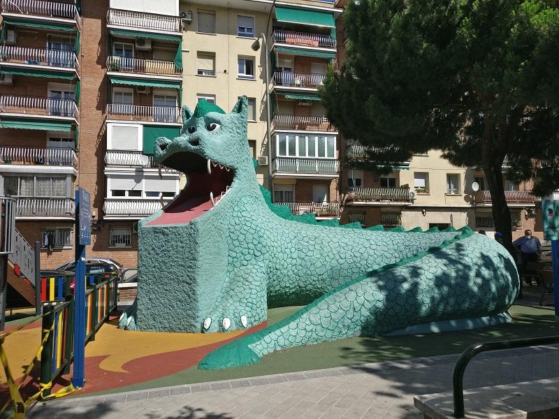 parque del dragon de la elipa